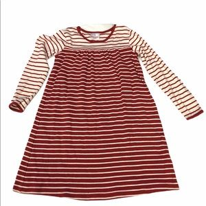 Hanna Andersson red white striped dress